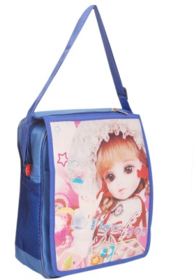 Oril Girls Blue Polyester Sling Bag