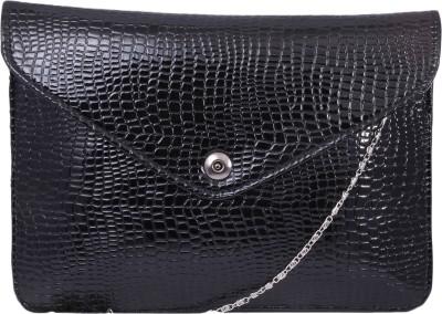Pinkdivaas Women, Girls Black Leatherette Sling Bag