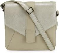 Phive Rivers Women Beige Genuine Leather Sling Bag