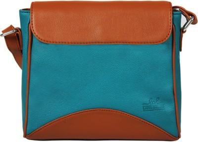 Lapis O Lupo Women Blue PU Sling Bag