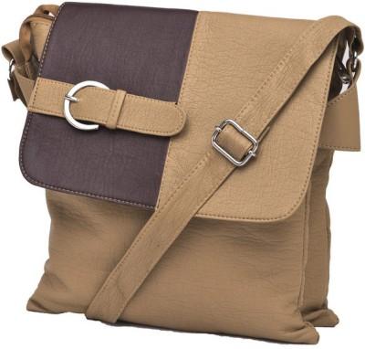 Igypsy Girls, Women, Men Khaki Leatherette Sling Bag