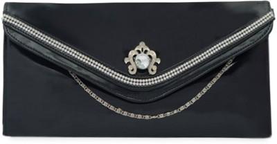 SkyWays Women Casual, Evening/Party Black PU Sling Bag