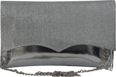 La Passo Girls, Women Grey Leatherette Sling Bag