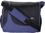 Comfy Men Blue, Black Nylon Sling Bag