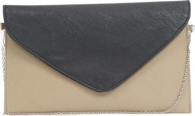 Igypsy Girls, Women Grey Leatherette Shoulder Bag