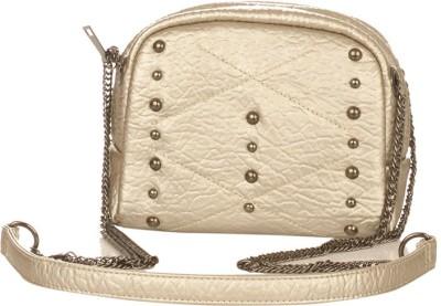 Vero Couture Women Silver PU Sling Bag