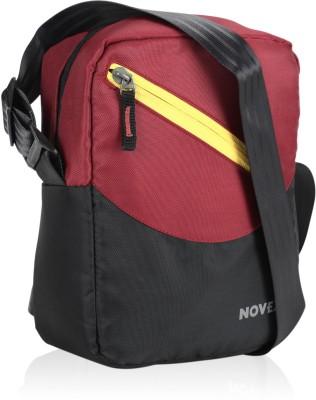 Novex Men, Boys, Girls Red Nylon Sling Bag