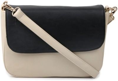 Cappuccino Girls White PU Sling Bag