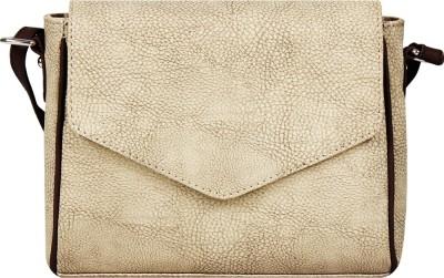 Borsavela Women Grey PU Sling Bag