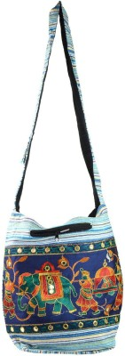 Rajkruti Women Multicolor Cotton Sling Bag
