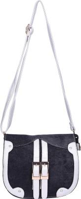 Aquila Women Black Denim Sling Bag