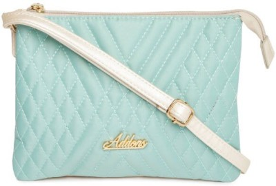 Addons Women Blue PU Sling Bag