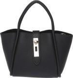 Fur Jaden Women Black PU Shoulder Bag