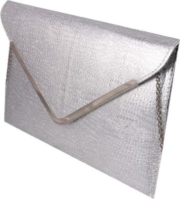 ARMADIO Girls, Women Silver Leatherette Sling Bag