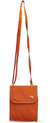 Fab Fashion Women, Girls Orange Canvas Sling Bag