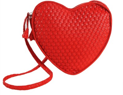 Swayam Women, Girls Casual, Evening/Party Red Rexine Sling Bag