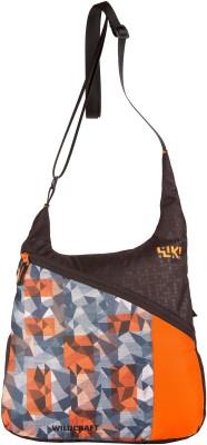 Wildcraft Women Orange Polyester Sling Bag