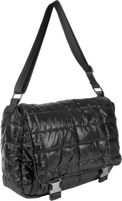Just Women Girls Casual Black PU Sling Bag