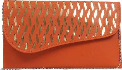Igypsy Girls, Women Orange Leatherette Shoulder Bag