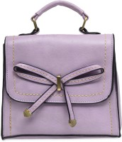 The Backbencher Women Purple Leatherette Sling Bag