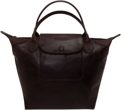 Cascara Women Brown Genuine Leather Shoulder Bag