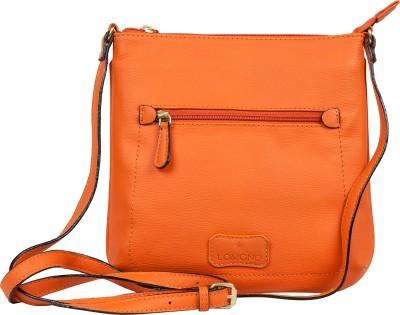 Lomond Women Evening/Party Orange PU Sling Bag