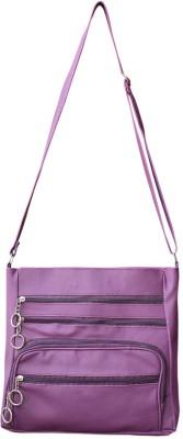 Bueva Women Purple PU Sling Bag