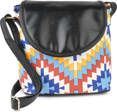 Ayeshu Women Multicolor Canvas Sling Bag