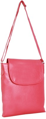 New Zovial Men, Women Formal Pink PU Sling Bag