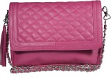Famous by Payal Kapoor Women Pink Leathe...