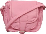 Speed Dot Women Pink Leatherette Sling B...