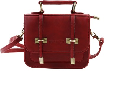 Remanika Women Maroon PU Sling Bag