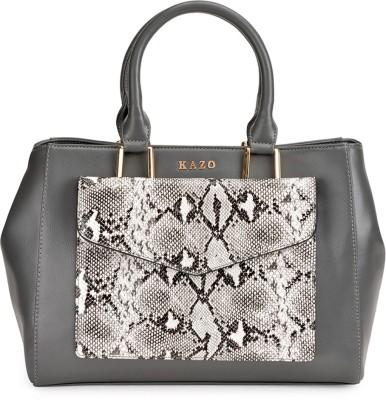 Kazo Women Grey PU Sling Bag