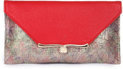 Kleio Girls, Women Casual, Formal, Party Red  Clutch