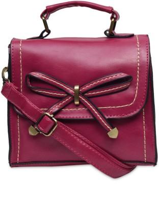 The Backbencher Women, Girls Pink Leatherette Sling Bag