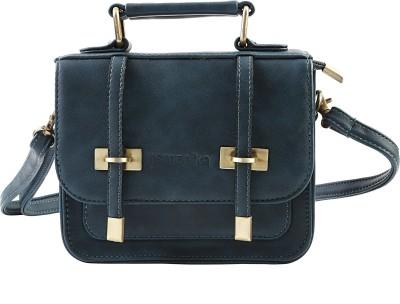 Remanika Women Blue PU Sling Bag