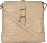 Felicita Women Beige PU Sling Bag