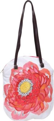 Jademist Women Red Cotton Sling Bag
