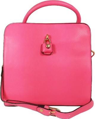 Online Keeda Girls Pink Rexine Sling Bag