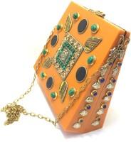Nakkashee Women Orange Acrylic Sling Bag