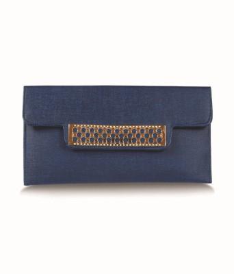 inkdice Women Blue PU Sling Bag