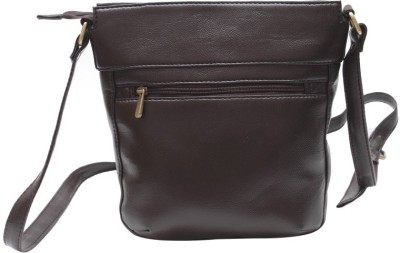 The Parallels Women, Girls Formal, Casual Brown PU Sling Bag