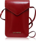 La Roma Women Red Genuine Leather Sling ...