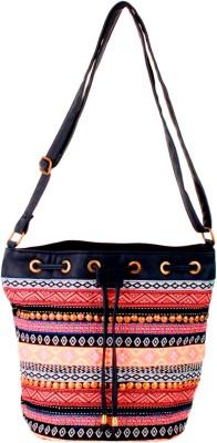 Tiara Women Multicolor Canvas Sling Bag