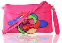 JG Shoppe Women Casual Pink Rexine Sling Bag