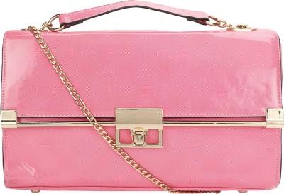 Kawaii Women Pink PU Sling Bag