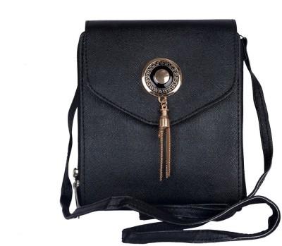Murcia Women Black PU Sling Bag