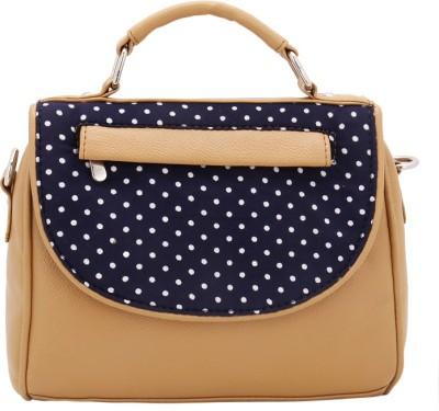 Borsavela Women Casual Beige PU Sling Bag