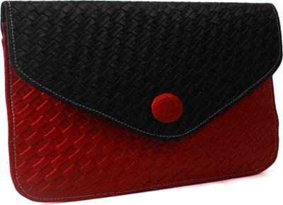 Pochette Women, Girls Casual, Formal Red, Black PU Sling Bag