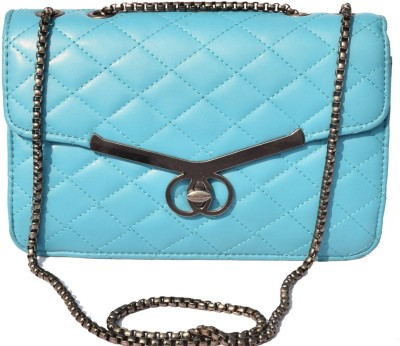 Basta Girls Blue PU Sling Bag